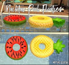 Pool Floaties by Sympxls at SimsWorkshop • Sims 4 Updates