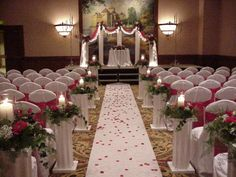 Vintage Wedding Church | Church Wedding Decorations | Shannon's Custom Florals | Springfield ...