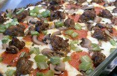 DEEP DISH PIZZA - Linda's Low Carb Meal