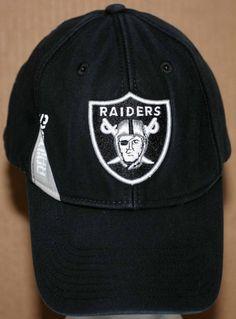 787ce8e7cff NFL Oakland Raiders Embroidered Cap Adult Size Adjustable Black   NFLTeamApparel  OaklandRaiders Raiders