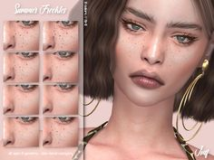 - Stand alone item with thumbnail Found in TSR Category 'Sims 4 Female Skin Details' Sims 5, Sims 4 Cas, Tattooed Freckles, The Sims 4 Skin, Freckles Makeup, Pelo Sims, Sims 4 Cc Makeup, The Sims 4 Download, Sims 4 Cc Finds