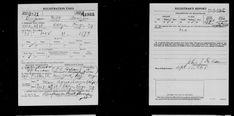 Benjamin Wilt Arnzen - United States World War I Draft Registrations, 1917-1918 - MyHeritage