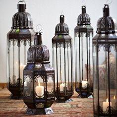 Lampe 'Maroc' - L - Schöne Beute  Marokkanische Lampen für den Sommer....indoor oder Terrasse.....