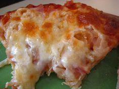 My Homemade Life: Don't Knock it Till Ya Try It. CANADIAN BACON & SAUERKRAUT PIZZA