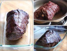 Svíčková na smetaně - dokonalý recept krok za krokem Steak, Beef, Cooking, Food, Meat, Kitchen, Essen, Steaks, Meals