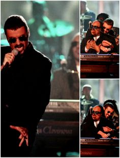 George Michael and Stevie Wonder singing Living In The City