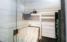Asuntomessujen 2020 saunanostot ja saunatrendit – Saunologia.fi Loft, Bed, Furniture, Home Decor, Lofts, Stream Bed, Interior Design, Home Interior Design, Beds