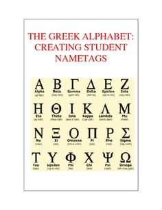 The Greek Alphabet - Ancient Greece for Kids College-- Fraternity and Sorority Ancient Greece For Kids, Ancient Greek, Ancient Greece Ks2, Go Greek, Greek Life, History Of Typography, Alphabet Songs, Alphabet Code, Alphabet Letters