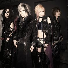Previous pinner: Deluhi - Visual Kei style Japanese band.