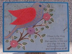 I just listed Hope Feathers A2 handmade inspirational greeting card sympathy **YOU CHOOSE THE COLOR** on The CraftStar @TheCraftStar #uniquegifts