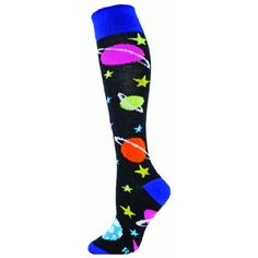 Red Lion Galaxy Knee High Sock ( Black Multi - Small ) >>> Click on the image for additional details. (This is an affiliate link) #Socks