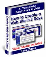 How to create a website in 5 days :: free money making ebooks, make money ebook store, make money website script
