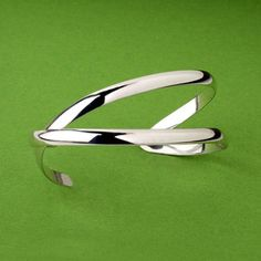 """""""Pescado"""" Sterling Silver Cuff by PAZ COLLECTIVE now featured on Fab."""