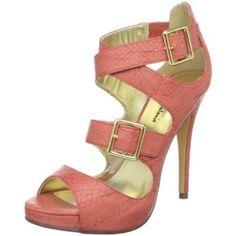 Coral Buckle Heels | LUUUX
