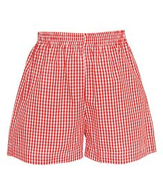 Look at this #zulilyfind! Red Gingham Shorts - Infant, Toddler & Boys #zulilyfinds