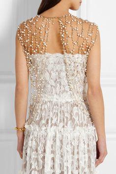 Rosantica | Chimera gold-tone pearl body chain | NET-A-PORTER.COM