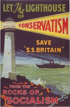 1929 Tory Party Election Poster A3 / A2 by VintagePosterShopUK