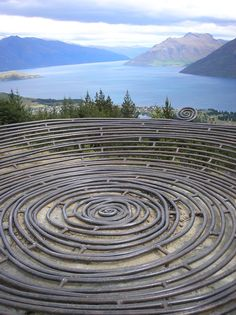 12. Go for a beautiful hike in the area of Queenstown. On top of the hill you'll find the Basket of Dreams and an amazing view www.topthingstodointheworld.com