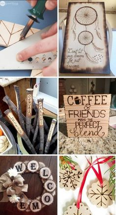 DIY Wood Burning Art Project Ideas & Tutorials