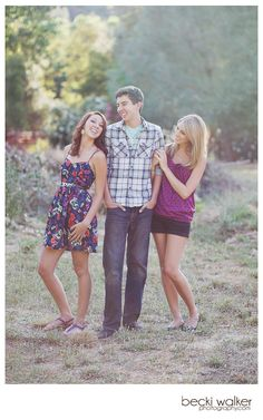 Another pinner said, So want to do this pose with my 3 kids NOW and when they are TEENS!!