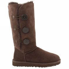 UGG Boots - Bailey Button Triplet - Chocolate - 1873