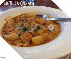 Guiso de chipirones y verduras   Restaurante tapería bar tienda Abica en A Coruña
