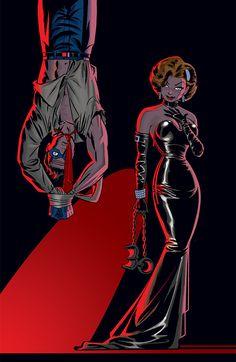 comicblah:  The Spirit #2 cover by Darwyn Cooke
