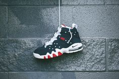 Nike Air Max2 CB '94 'Obsidian, white & Red' http://www.sprhuman.com/2015/04/nike-air-max2-cb-94-obsidian-white-red/