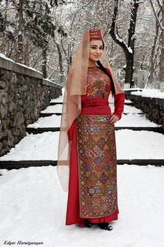 Armenian taraz dress.
