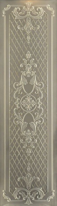 . Glass Design, Door Design, Wall Molding, Carving Designs, Classic Interior, Ceiling Design, Decoration, Stained Glass, Glass Art