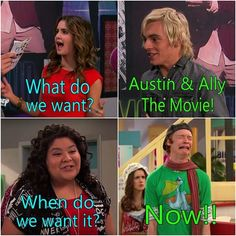 Put this on your acount to let them know that you it #austinandallythemovie We need this movie. #austinandally