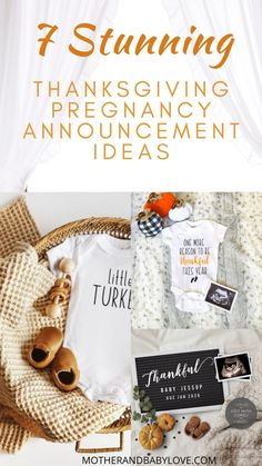 The best thanksgiving pregnancy announcement ideas. #pregnancy reveal