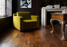 Medium | From the soft fawn tones of Ulu, a 100-year-old reclaimed Georgian pine, to the warm sandstone oak of a Plovercrest panel.