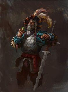 Landsknecht by AlexanderExorcist on DeviantArt Fantasy Armor, Medieval Fantasy, Dnd Characters, Fantasy Characters, Fantasy Inspiration, Character Inspiration, Fantasy Character Design, Character Art, Warhammer Empire