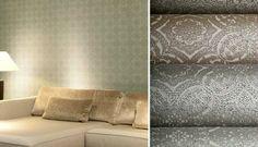 Shop Online Arte Wallpaper Range   Basalt   Filigree   Dennis Teepe   Bespoqe Interiors