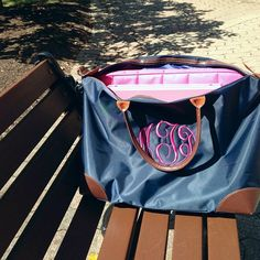 Monogrammed Weekender Travel Bag- this is the PERFECT bag