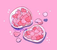 Cute Food Drawings, Cute Kawaii Drawings, Arte Do Kawaii, Kawaii Art, Kunst Inspo, Art Inspo, Art And Illustration, Aesthetic Art, Aesthetic Anime