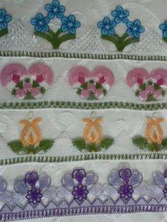 Dowry, luxury needlework towels - My Recommendations Crochet Unique, Beautiful Crochet, Crochet Lace, Viking Tattoo Design, Viking Tattoos, Crochet Boarders, Crochet Patterns, Sunflower Tattoo Design, Needle Lace