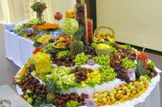 wedding banquet food | Photo Gallery - Wedding Reception Food Table