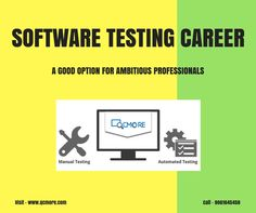 Learn #SoftwareTesting from QCmore Software Testing Training Institute Kochi and kick start your dream career. Enroll Now! For Enquiry: www.qcmore.com | 9061645458