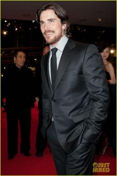 Christian Bale in Berlin, 2012.