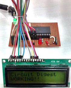LCD Interfacing with PIC Microcontroller (PIC16F877A) using MPLABX and XC8