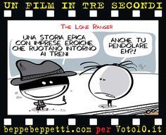 Beppe Beppetti - Un film in 3 secondi: The Lone Ranger