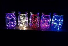 Colored fairy lights – Knot and Nest Designs