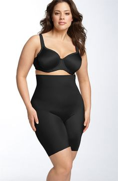 SPANX® 'Slimplicity' High Waist Shaper (Plus Size) available at #Nordstrom