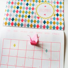 Calendrier 2016 Lilidoll Bullet Journal Calendrier, Planning, Filofax, Project Life, Free Printables, Calendar, Sweet, Inspiration, Homemade Planner