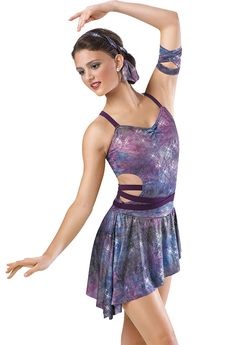 This costume for our winter show would be perfect for the northern lights jazzers