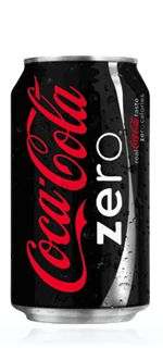 Coca Cola zero without added sugar in plastic packaging of 330ml.