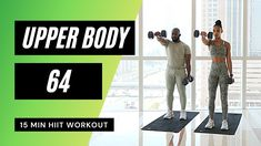 Upper Body Hiit Workouts, Body Exercises, 15 Min Hiit Workout, Mr Muscle, Workout Calendar, Body Training, Different Exercises, Fitness Workout For Women, Workout Exercises
