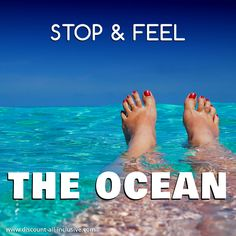 Stop & feel the ocean. #ocean #travel #paradise #vacation